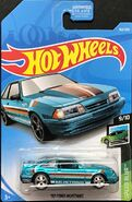 2019 Hot Wheels '92 Ford Mustang carded