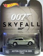 HW-2016-Entertainment Series-Mix A-Aston Martin DB5 1963-Skyfall 007.