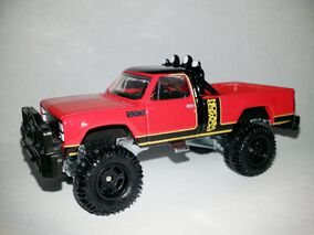 HW-Retro Entertainment-1980 Dodge Macho Power Wagon-Simon & Simon