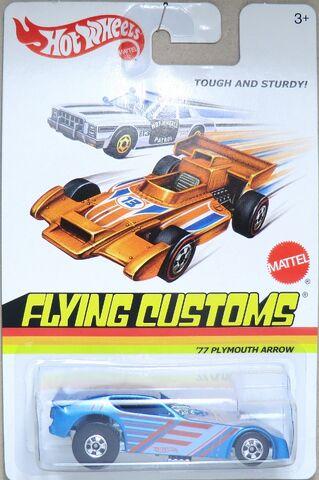 File:'77 Plymouth Arrow Funny Car-2013 Flying Customs.jpg