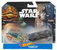 Jabba The Hut han solo 2 pack