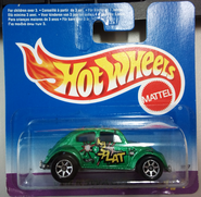 1997 Hot Wheels Bug Volkswagen wheel variation