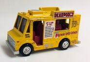 Deadpool Chimi Van. Front Pers