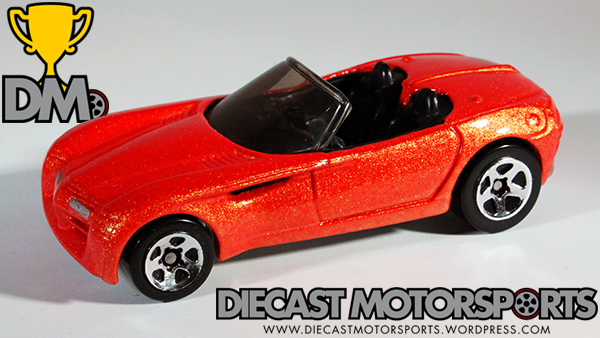 Orange Met 1998 First Editions Dodge Concept Car - 1:64 Hot Wheels #672