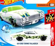 2019 Hot Wheels '69 Ford Torino Talladega 2nd color
