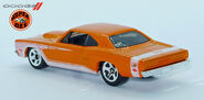 69' Dodge Coronet super Bee (971) Hotwheels L1230691