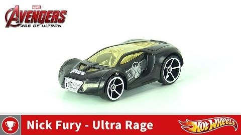 Hot Wheels - Marvel Avengers Age of Ultron - Nick Fury - Ultra Rage (4K UHD)