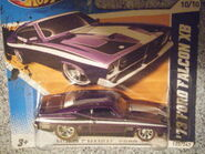 Hot Wheels 2012 120 1973 Ford Falcon XB Super treasure hunt tilt