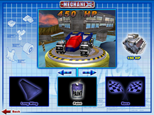 Shadow Jet was Playable in Hot Wheels Mechanix PC 2006 Hot Wheels