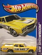 2013 248-250 HW Showroom - Performance - '70 Chevelle SS Wagon -Mooneyes- Yellow