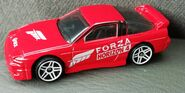 HW 96 NISSAN 180SX TYPE X Forza RED
