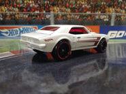 Pontiac Firebird 400 Red Edition back