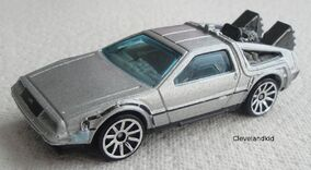 2011 BTTF Time Machine Silver