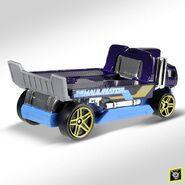 2019 Hot Wheels Haulinator 2nd colour back