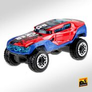 2020 Hot Wheels Hyper Rocker left