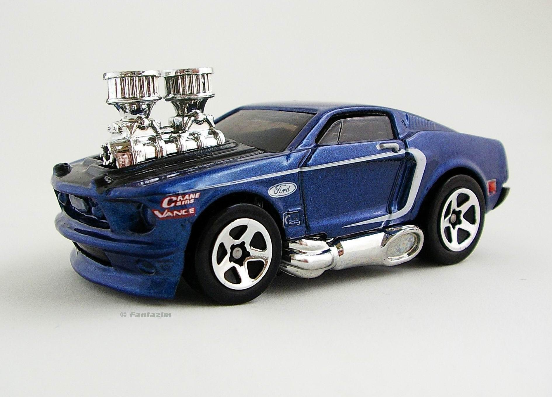 1968 Mustang ('Tooned)   Hot Wheels Wiki