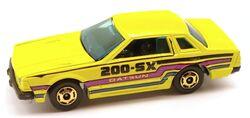 Datsun200SX Yellow