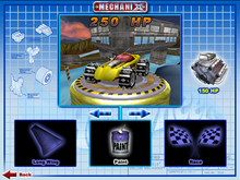Silhouette II was Playable in Hot Wheels Mechanix PC 2002 Hot Wheels