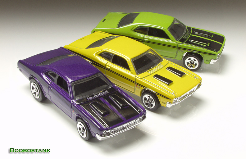 Hot Wheels 2011  Kmart Excl /'71 Dodge Demom Yellow 84//244  B13