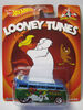 Hot Wheels 2014 Pop Culture Looney Tunes Volkswagen T1 Drag Bus Card