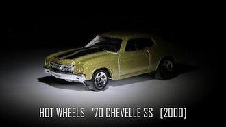Hot Wheels '70 Chevelle SS-1