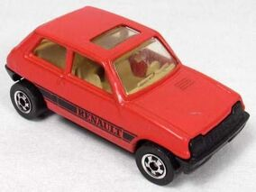 Renault 5 Le Car Red