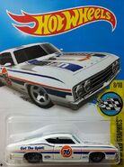 2016 183-250 HW Speed Graphics 08-10 '69 Ford Torino Talladega 'Union 76' White
