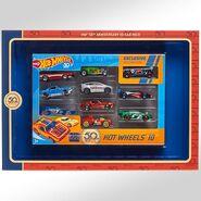 50th Anniversary 10-Car Pack