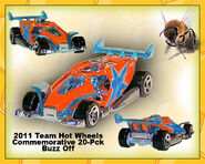 2011 Team Hot Wheels Commemorative 20-Pack Buzz Off