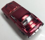 69 Firebird TA. Hot Wheels Classics. Spectraflame Red. Eaglevuerear
