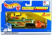 Pavement Pounder 2000 55 Chevy Yellow