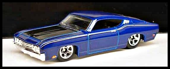 Versions The  Ford Torino Talladega