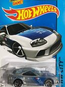 2014 022-250 HW City - Night Burnerz - Toyota Supra 'Falken K&N TEIN' Silver (Kmart Exclusive)