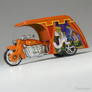 1073 Hot Wheels 3D-Livery Robin Hood mf orange (1)