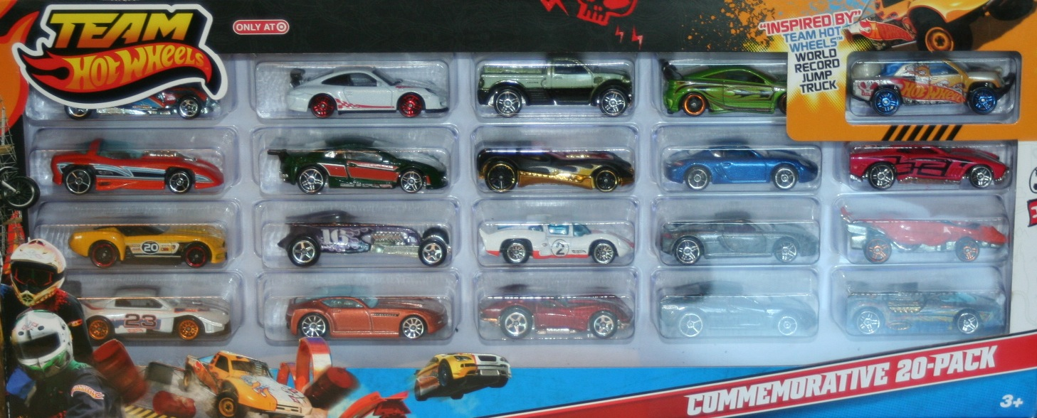 Team Hot Wheels Commemorative 20 Pack Hot Wheels Wiki