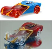 Wonder Woman Character Cars