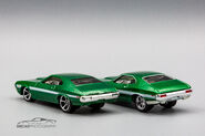 72 Ford Gran Torino Sport Premium vs Mainline-1