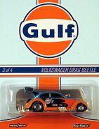 HWC Gulf Racing 2013 3-4 Custom '56 Volkswagen Drag Beetle 'Gulf'