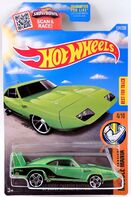 7 - '69 Dodge Charger Daytona 2016 Muscle Mania Green - 2-2