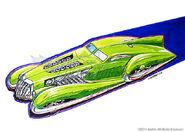 Screamliner Sketch