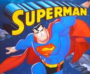 Superman series blister artwork