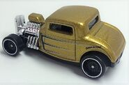 32 Ford. Gold Metalflake. rear high-perspective