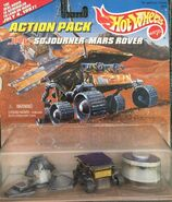 Sojourner Mars Rover Action Pack