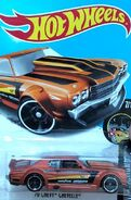 2017 Night Burnerz 07-10 212-365 '70 Chevy Chevelle 'Goodyear Hotchkis' Copper