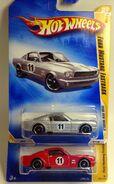 Mustang Fastback Variations