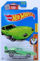 7 - '69 Dodge Charger Daytona 2016 Muscle Mania Green - 1-2