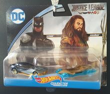 DC JusticeLeague Aquaman Batman 2Pack