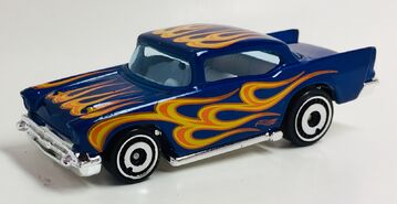 '57 Chevy. HW Flames