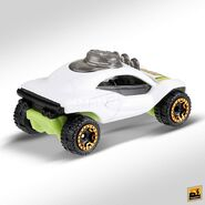 2019 Hot Wheels Dune Daddy 2nd colour back