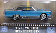 67 Plymouth Beldeverde GTX ( Tommy Boy ) Hot Wheels